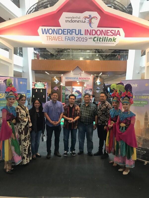 Wonderful Indonesia Guncang Selangor dengan Travel Fair With Citilink