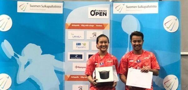 Pebulu Tangkis Muda Indonesia Raih 2 Gelar dari Finnish Open 2019