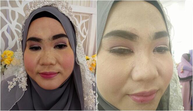 Dirias Salon Abal-abal, 4 Make-up Pengantin Ini Bikin Emosi Warganet!