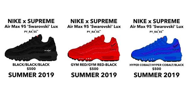 Kolaborasi Nike x Supreme Hadirkan Sneakers Berhiaskan Kristal Swarovski!