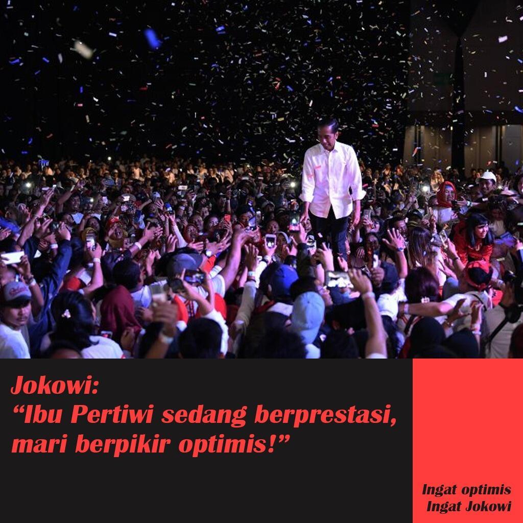Prabowo Sebut Ibu Pertiwi Sakit, Jokowi Beber Sejumlah Prestasi Internasional