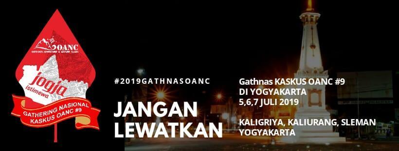 [OFFICIAL] GATHERING NASIONAL 9 KASKUS OANC