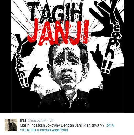 Janji Jokowi bagi para buruh saat kampanye di Bandung