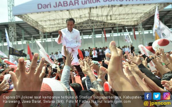 Jokowi: Jangan Sampai Ada yang Menakut-nakuti