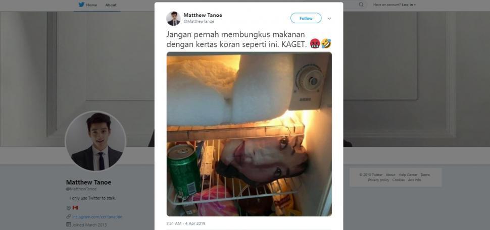 Kaget! Pria Ini Temukan 'SOSOK KEPALA WANITA' Di Kulkas, Karena Asal Bungkus