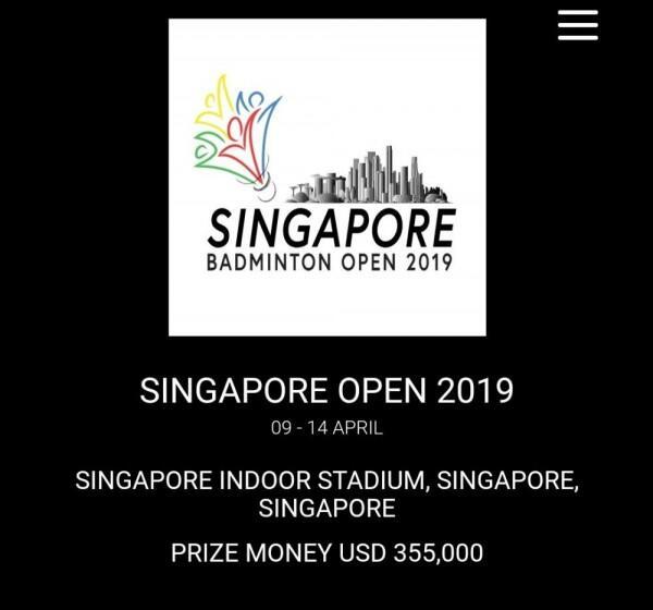Indonesia Siap Tempur di Singapore Open 2019