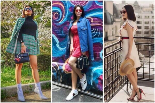 10 Gaya Berkelas Vicky, Kakak Bunga Zainal Saat Liburan ke Luar Negeri
