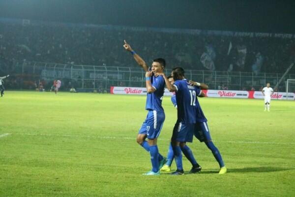 Jalan Berliku Arema FC Lolos ke Final Piala Presiden 2019