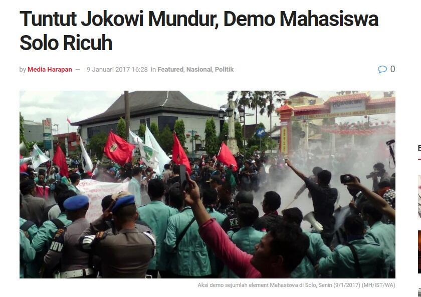 """Spanduk """"Solo Kota Prabowo"""" Warnai Kampanye Akbar di Stadion Sriwedari"""