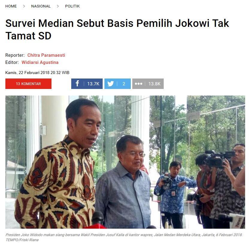 (Dungu) Kubu Jokowi: Mana Ada Biksu Enggak Gundul