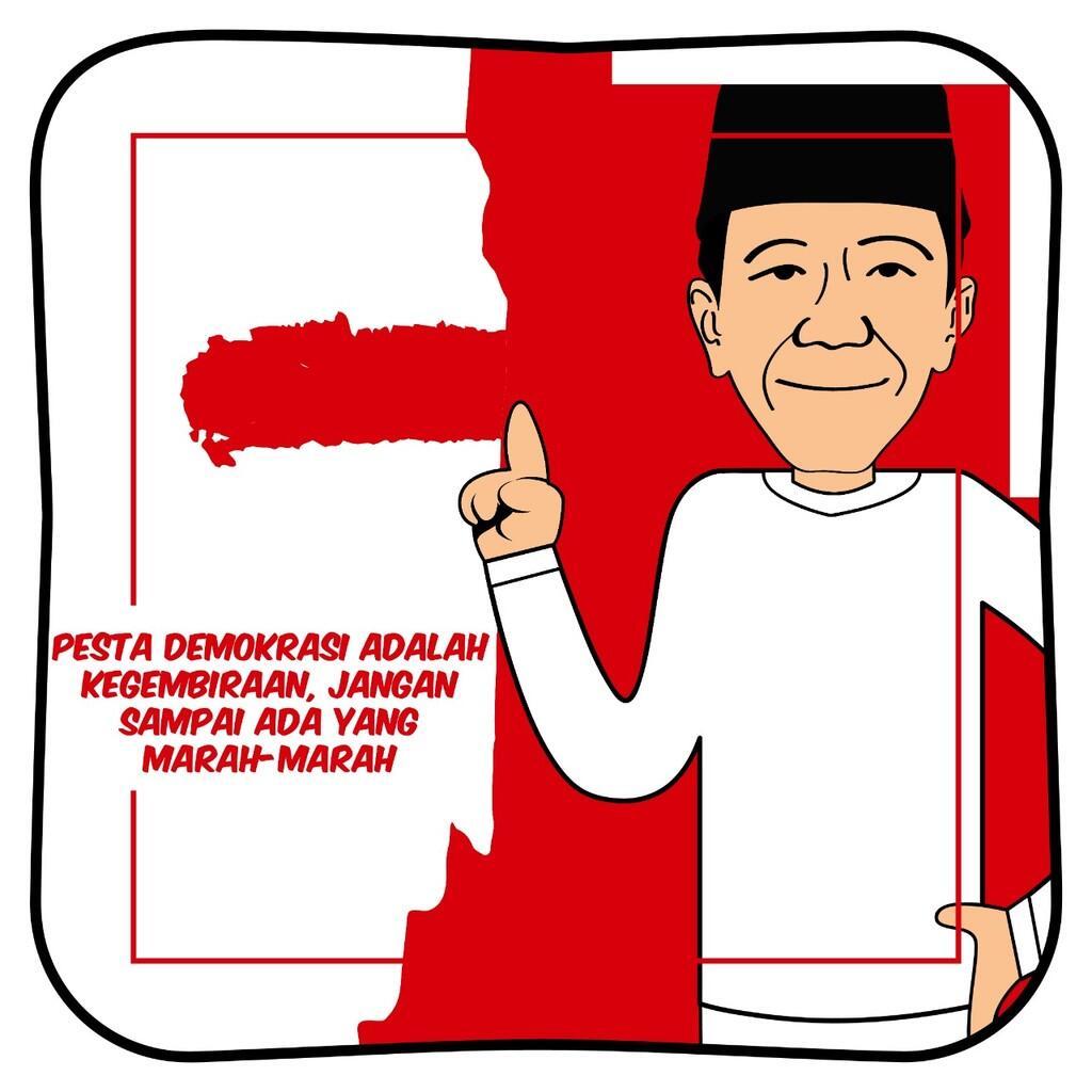 Jokowi: Pemilu Pesta Kegembiraan, Jangan Sampai Ada yang Marah-Marah