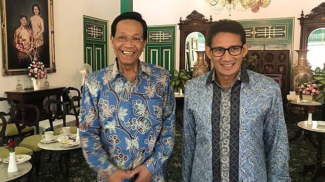Ada Apa Nih, Sultan HB X Terima Prabowo Tapi Tolak Jokowi