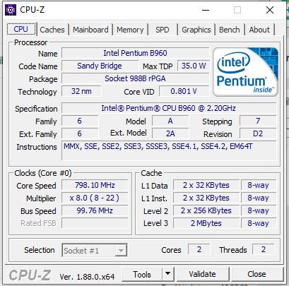 Apakah axioo neon hmn pentium D masih bisa di upgrade processornya?