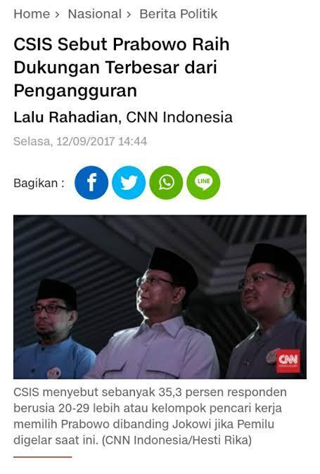 Feeling Jokowi Kejutan Besar di Jatim, BPP Prabowo: Terkejut akan Kalah!