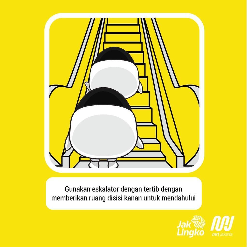 Menurut Studi, Cara Naik Eskalator Orang Indonesia Justru Benar!
