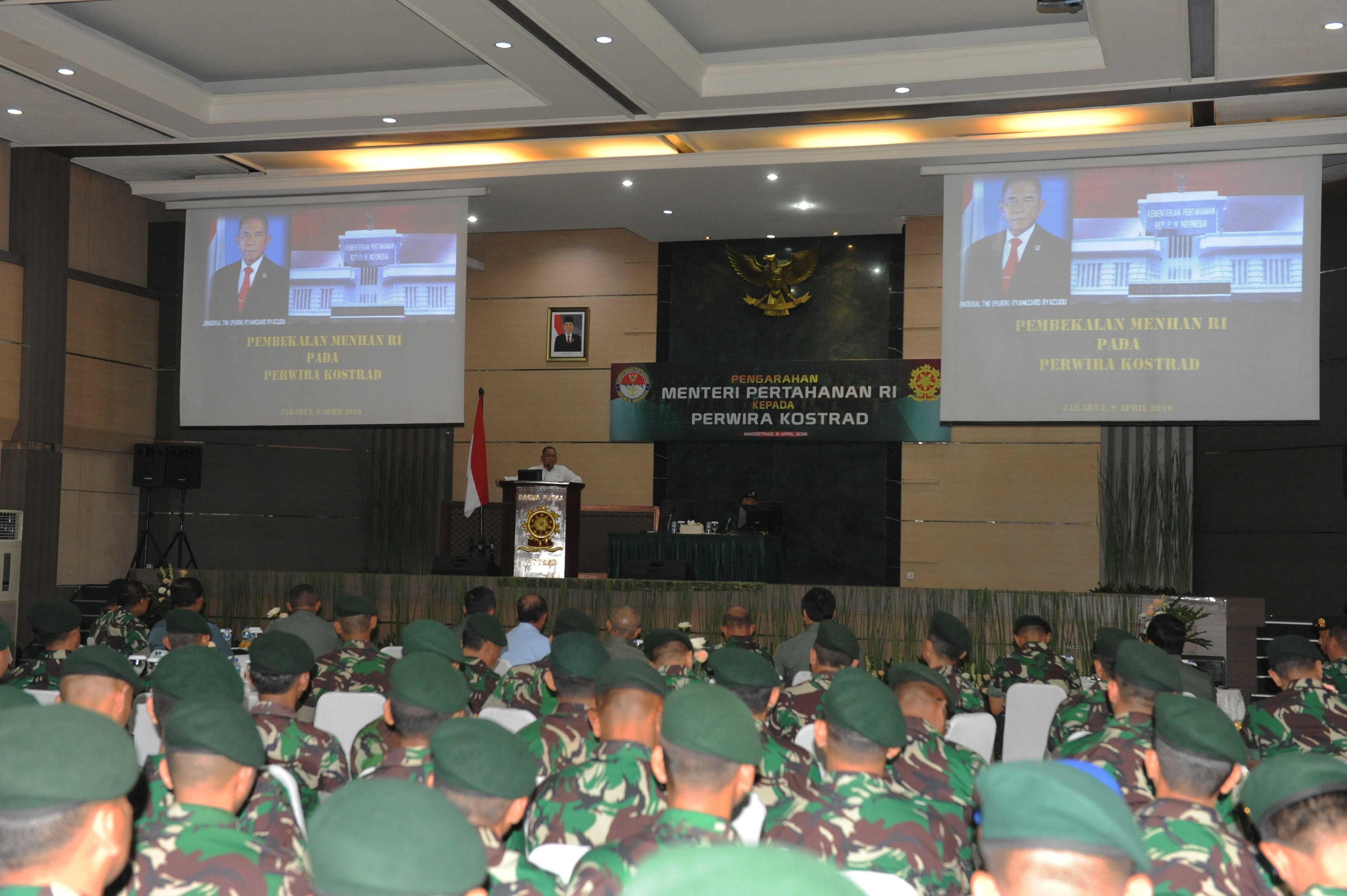 Menhan Ingatkan Kostrad Waspadai Stabilitas Keamanan Nasional Jelang Pemilu