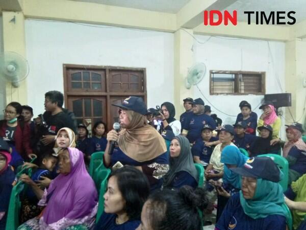 Manohara Odelia Ajak Warga Kremil Surabaya Kurangi Sampah Plastik