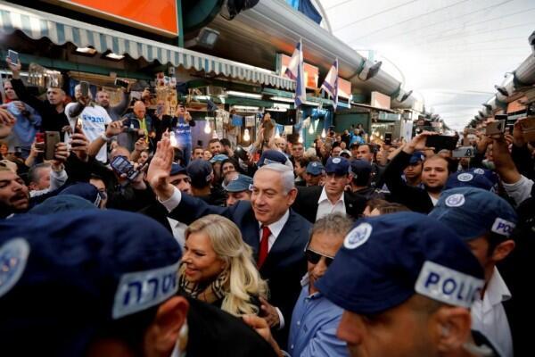 Netanyahu dan Gantz Kompak Klaim Kemenangan di Pemilu Israel