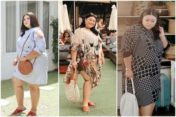 Bikin Gemas, OOTD Liburan buat Cewek Plus Size ala Clarissa Putri