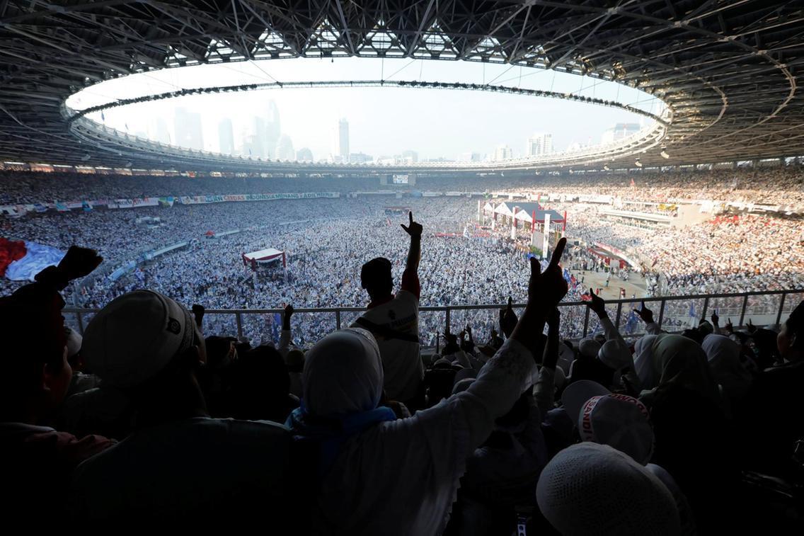Luar Biasa, Kampanye Akbar Prabowo di GBK Masuk World Best Photo