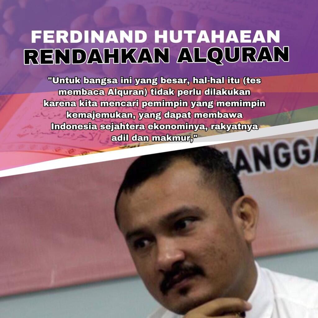 Tak Bisa Baca Al Qur'an, Timses Prabowo Rendahkan Ayat Suci