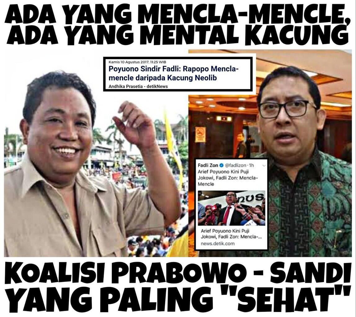 Diambang Perpecahan Gerindra, Arief Poyuono dan Fadli Zon Saling Serang