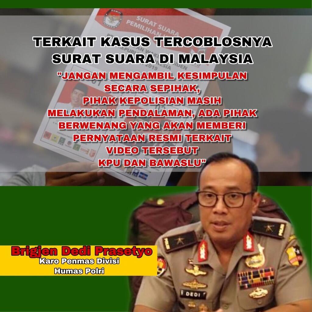 Waspada Peredaran Video Kecurangan di Malaysia dan Hoaks Hasil Pemilu di Luar Negeri