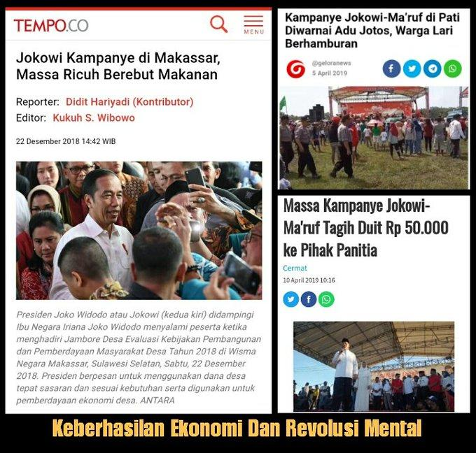 TKN akan Sambut Pendukung Jokowi yang Long March Tasikmalaya-Jakarta