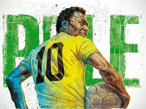 He is Pelé, King from Brazil