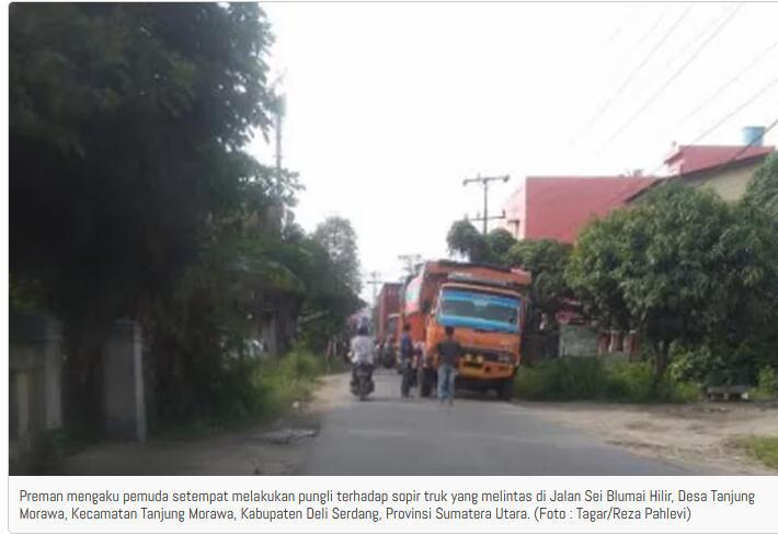 Ramainya Pungli di Jalan Sei Blumai Deli Serdang, Polisi: Kita Tahu