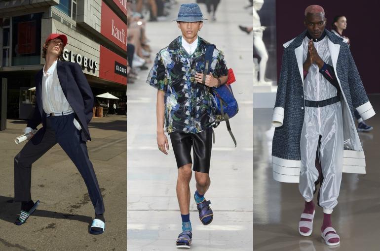 Kenapa Sih Ada Orang yang Pakai Kaos Kaki dan Sandal? Norak Atau Hypebeast Nih Gan?