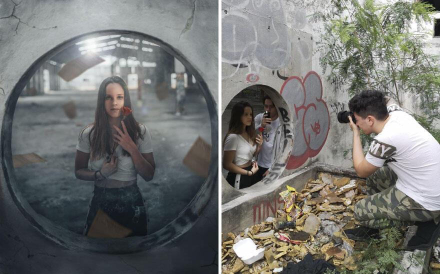 Oh, Ternyata Gini Behind The Scene dari Foto yang Keren Banget. Oke Sip!