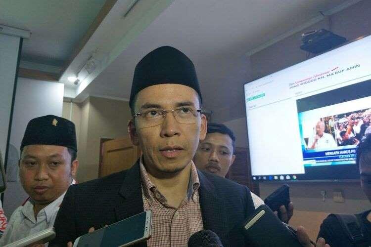 TGB Akui Tinggalkan Prabowo lalu Dukung Jokowi.