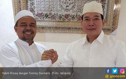Habib Rizieq Doakan Partai yang Dipimpin Tommy Soeharto Lolos ke Senayan