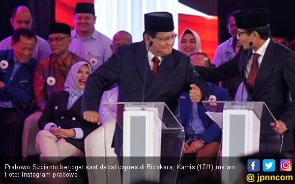 Jika Menang Prabowo-Sandi Akan Ambil Menteri dari Pendukung Jokowi-Ma'ruf