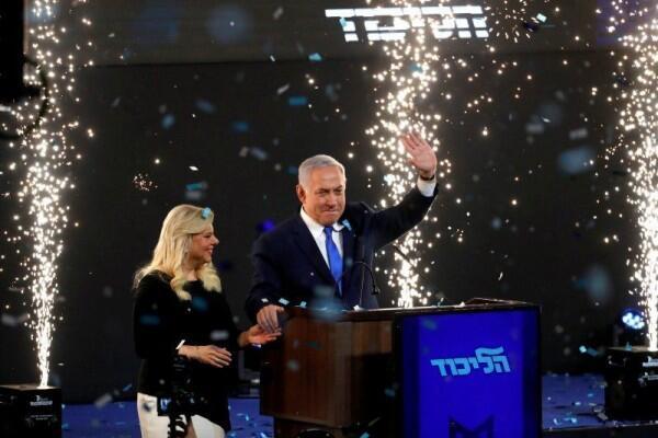 Pemilu Israel: Netanyahu Kembali jadi Perdana Menteri