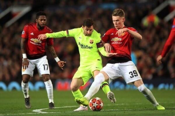 Liga Champions: Manchester United Kalah dari Barcelona di Old Trafford