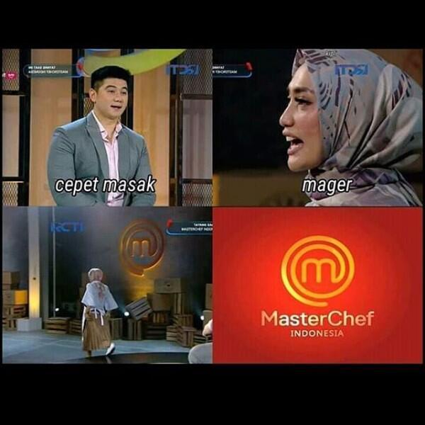 Bikin Ngakak, Ini 10 Meme Kocak Acara MasterChef Indonesia