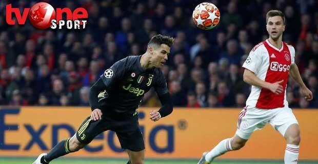 Juventus Akui Ajax Tangguh di Kandang