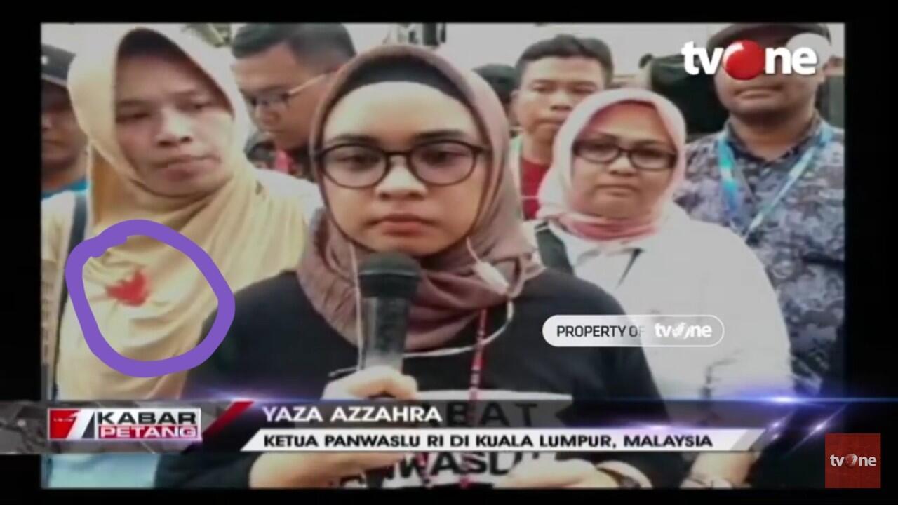 Polemik Ketua Panwaslu Malaysia, Yunarto Tanya Hadirnya Yaza di Acara Prabowo-Sandi