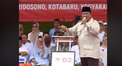 Survei: Sifat Temperamen Prabowo Bikin Kaum Terpelajar Berbelok ke Jokowi
