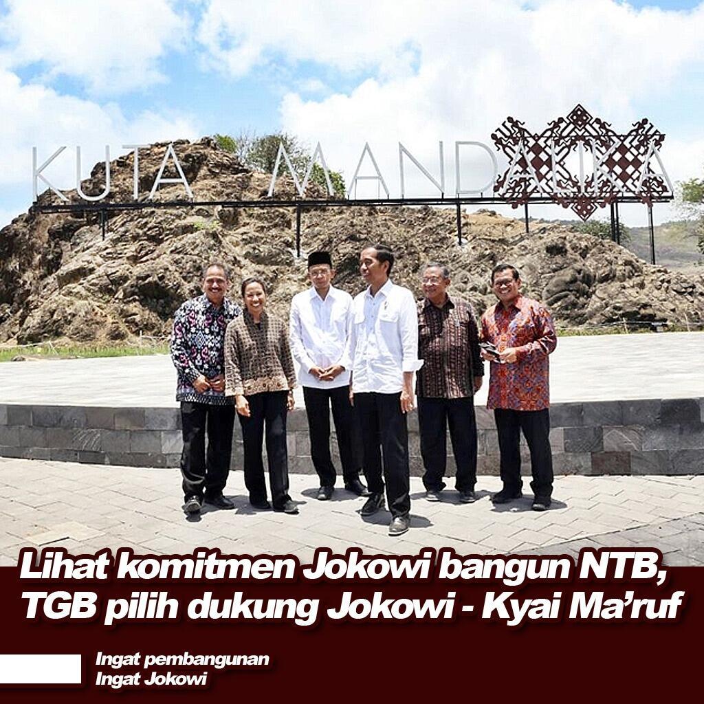 TGB Ungkap Alasannya Beralih dari Prabowo ke Jokowi