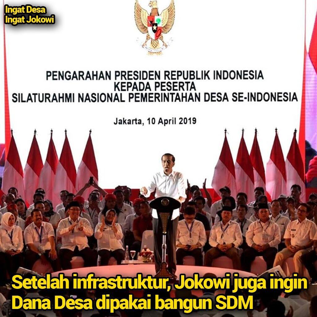 Setelah Infrastruktur, Jokowi Ingin Dana Desa Juga Digunakan untuk Pengembangan SDM