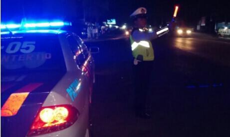 Lalulintas Malam, Satlantas Polres Banyuasin Gelar BLP di Tujuh Titik
