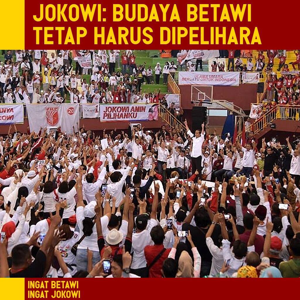 Jokowi: Budaya Betawi Tetap Harus Kita Pelihara