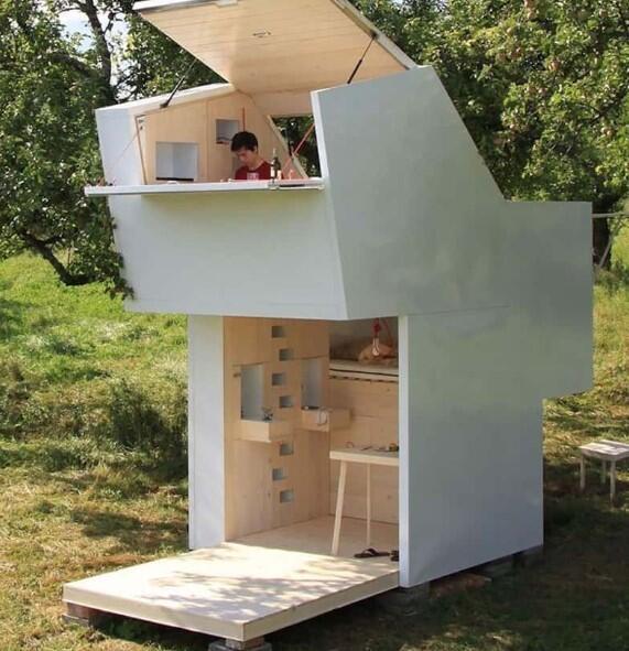11 Rumah Terkecil di Dunia, Tetap Tampil Elegan dengan Ukuran Mini