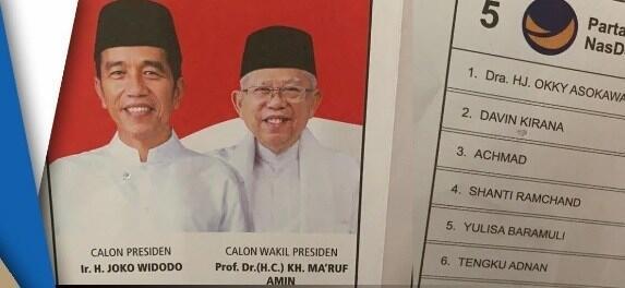 Tanggapan Jokowi Soal Penemuan Surat Suara Tercoblos di Malaysia
