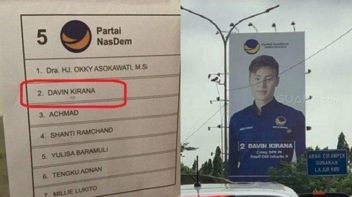 Davin Kirana, Caleg yang Surat Suaranya Tercoblos Itu Anak Bos Lion Air dan Dubes RI