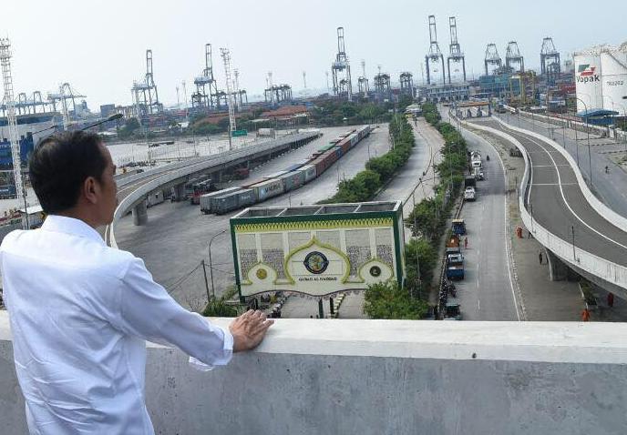 Grusa-grusu Kemenhub Resmikan Infrastruktur Transportasi