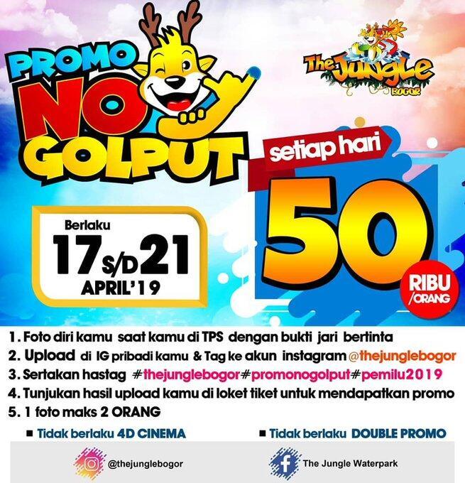 Kumpulan Promo Diskon Pemilu 2019, Makanya Jangan Golput!